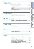 Sony DSC-WX1 - DSC-WX1 Istruzioni per l'uso Svedese - Page 5