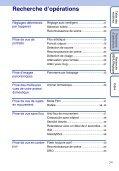 Sony DSC-WX1 - DSC-WX1 Istruzioni per l'uso Francese - Page 7