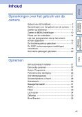 Sony DSC-WX1 - DSC-WX1 Istruzioni per l'uso Olandese - Page 4