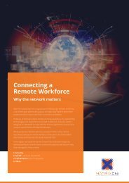Connecting a Remote Workforce