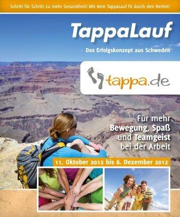 Mit dem TappaLauf fit durch den Herbst! - Tappa Service AB