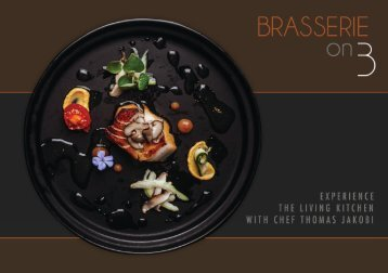 Brasserie on 3's The Chef's Table