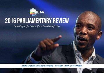 2016 parliamentary review