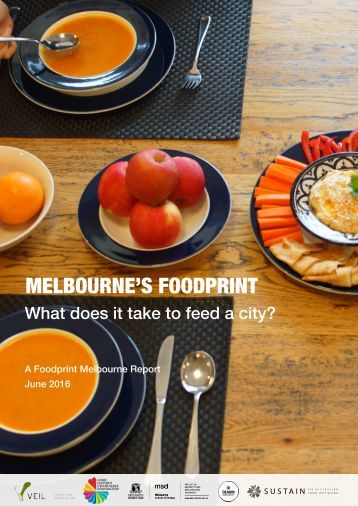 MELBOURNE'S FOODPRINT