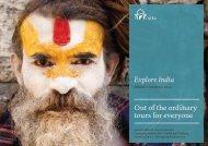 Explore India - Spring Summer 2012.