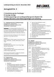 (Kapitel 4-8) zum Leitantrag - DIE LINKE. LV Baden-Württemberg