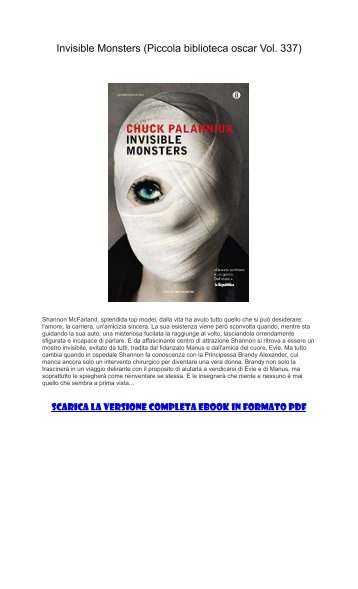 Monsters ebook invisible download