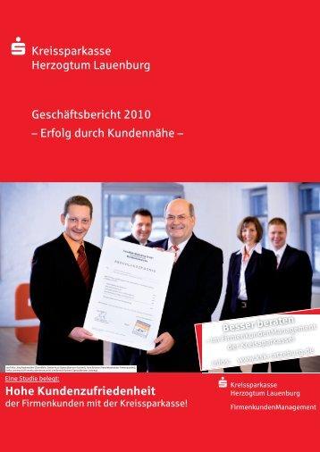 Lagebericht - Kreissparkasse Herzogtum Lauenburg