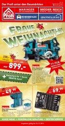 Kumpfmüller Bau - Flugblatt Dezember 2016