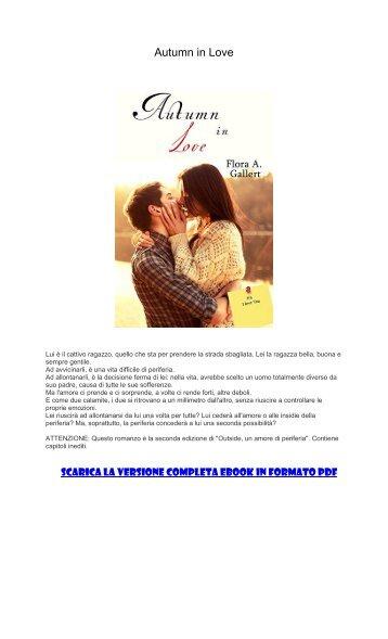 [ SCARICA ] Autumn in Love PDF