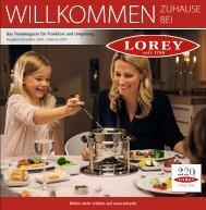 Trendmagazin für Frankfurt und Umgebung Ausgabe Dez.-Feb.2017