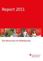 Unser Jahresbericht 2011 - Kreissparkasse Bitburg-Prüm