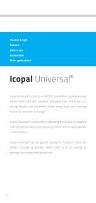 Icopal Universal User Guide and Installation Procedures - Page 4