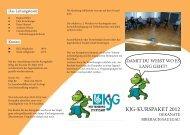 KJG-KURSPAKET 2012 - Katholisches Jugendreferat | BDKJ ...