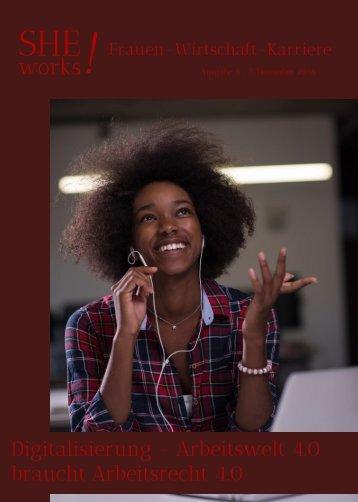 SHE works!  Frauen-Wirtschaft-Karriere