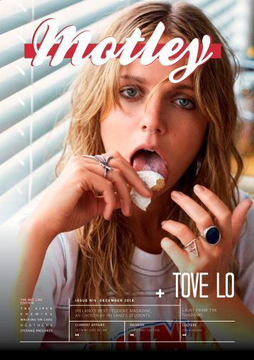 Motley Magazine - Volume X Issue Four - December 2016