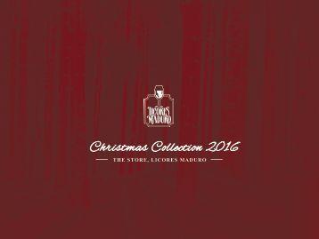 CHRISTMAS CATALOG  LICORES MADURO 2016