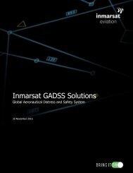Inmarsat GADSS Solutions