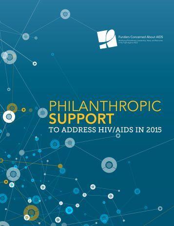 PHILANTHROPIC SUPPORT