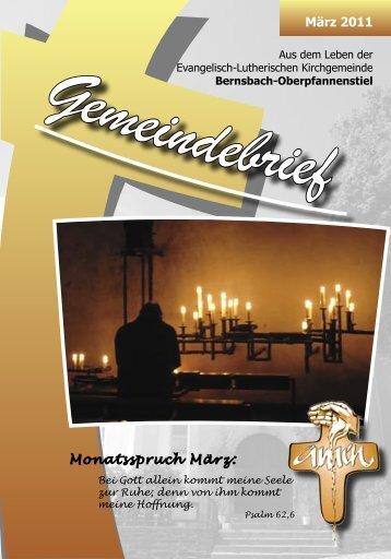 Gemeindebrief - posaunenchor-oberpfannenstiel.de