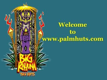 Commercial Tiki Huts and Tiki Bars in Florida