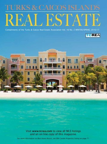 Turks and Caicos Islands Real Estate Winter/Spring 2016/17