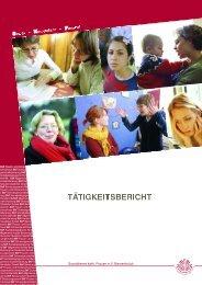 Tätigkeitsbericht 2009 SKF Bersenbrück e.V. [ PDF-Format ]