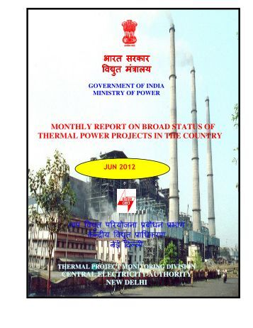 broad status of thermal power projects in haryana - Central ...