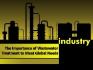 The Importance of Wastewater Treatment to Meet Global Needs