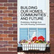OUR HOMES COMMUNITIES AND FUTURE
