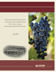 Wine catalogue 2016