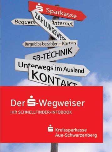 Wegweiser - Sparkasse Aue Schwarzenberg