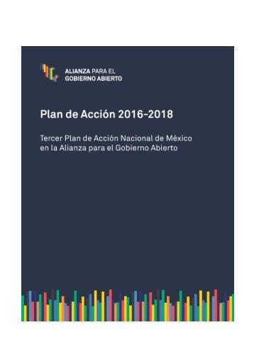 ALIANZA PARA EL GOBIERNO ABIERTO Plan de Acción 2016-2018