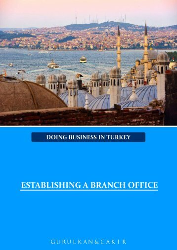 ESTABLISHING A BRANCH OFFICE
