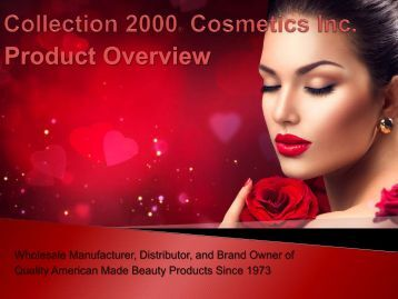 Collection 2000® Cosmetics Inc DECK english 1
