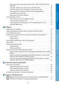 Sony HDR-CX505VE - HDR-CX505VE Istruzioni per l'uso Svedese - Page 4