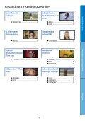 Sony HDR-CX505VE - HDR-CX505VE Istruzioni per l'uso Svedese - Page 6