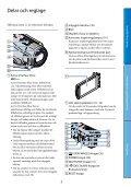 Sony HDR-CX505VE - HDR-CX505VE Istruzioni per l'uso Svedese - Page 7