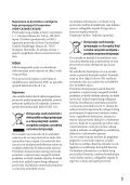 Sony HDR-CX505VE - HDR-CX505VE Istruzioni per l'uso Croato - Page 3