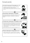 Sony HDR-CX505VE - HDR-CX505VE Istruzioni per l'uso Croato - Page 6