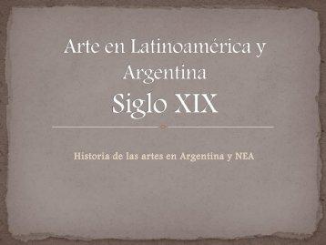 Arte en Latinoamérica y Argentina