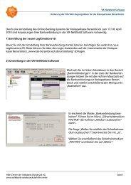 Durch eine Umstellung des Online-Banking-Systems der ...
