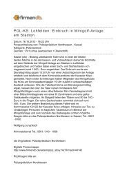 POL-KS: Lohfelden: Einbruch in Minigolf-Anlage am ... - Firmendb