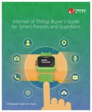 Internet of Things Buyer's Guide for Smart Parents and Guardians