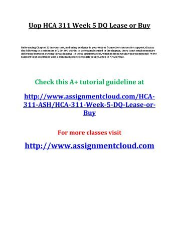 hca 311 week 4 assignment operating To sign up for the 9/11 health or workers' compensation programs, visit the   for all other inquiries, you can reach bgz at the following contact information.