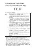 Sony SVE1512R1R - SVE1512R1R Documenti garanzia Spagnolo - Page 5