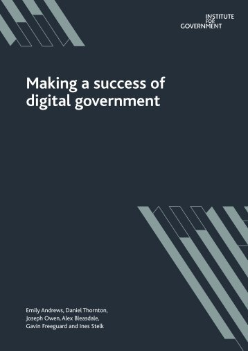 Making a success of digital government