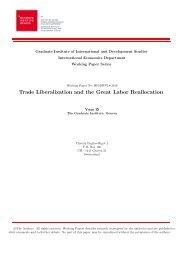 Trade Liberalization and the Great Labor Reallocation