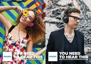 Philips Casque stéréo Bluetooth - Brochure - ENG