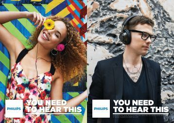 Philips Casque stéréo Bluetooth - Brochure - AEN